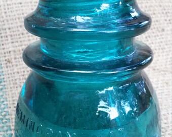 Blue Hemingray Insulator