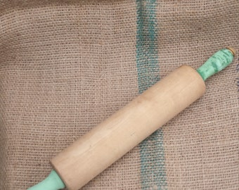 Munising Michigan Wooden Rolling Pin