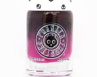 Punk Pop Color Changing Nail Polish - Temperature Black/Pink Nail Polish