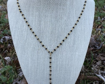 Authentic Shark Tooth Y Necklace