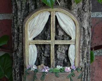 Fairy Door fairy garden miniature accessories hand crafted