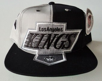 Vintage Los Angeles Kings Deadstock Snapback Hat NHL VTG
