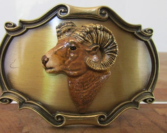 1980 Raintree Belt Buckle Ram