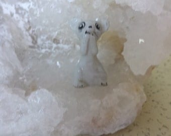 Miniature Bone China Mouse
