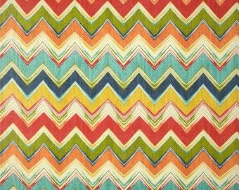 Culloden Chevron Fiesta Indoor / Outdoor Swavelle / Mill Creek Fabric