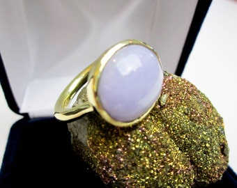 Certified Lavender Jadeite Ring, 18K, No Dye No Polymer Mason Kay Cert. 10.84cts., 12gms Custom Designed by Tampico SF.