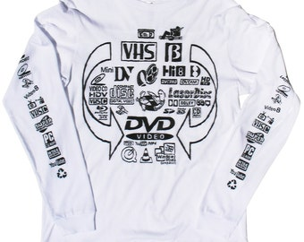 Video Formats (For VJ Use Only) long sleeve T-shirt