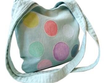 spotty shoulder bag