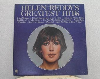 "Helen Reddy - ""Helen Reddy's Greatest Hits"" vinyl record"