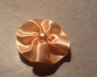 Extra Light Peach Hair Bow