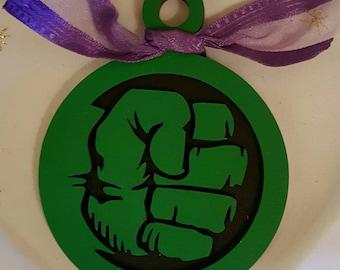 Incredible Hulk  Christmas Ornament