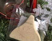 Kiss-shaped Sweet Almond Cinnamon Pumpkin Soap ! Christmas Stocking Stuffer! Anti-Bacterial Anti-Inflammatory Natural