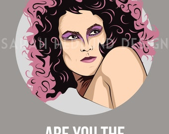 Ghostbusters Poster - Dana - Are You the Keymaster?