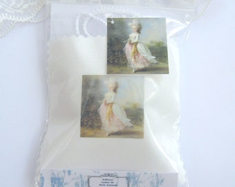 dollhouse cushion kit marie antoinette french 12th scale miniature