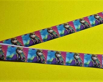 Clearance ribbon - Frozen Anna ribbon - 5 yards