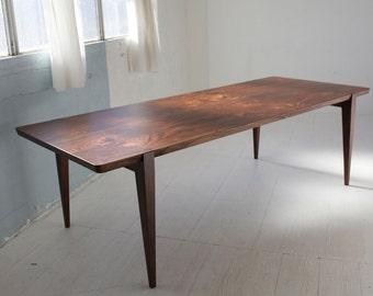 Walnut dining table | Etsy