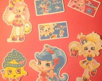 Shopkins Die Cuts Qty 7