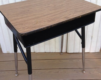 Vintage School Desk Kids Room Furniture