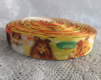 Collie ribbon Collie puppy ribbon Collie dog ribbon