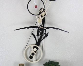 Wood Kinetic Sculpture - Hunting Theme -'Open Season'