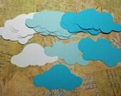 Die Cut Cloud Shapes.  #T-37