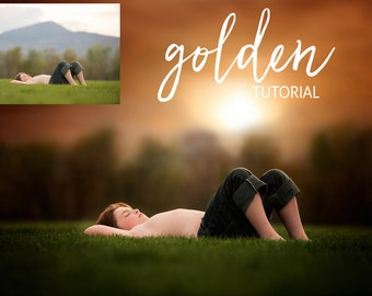Photoshop: Golden Hour Tutorial/Free Photoshop Action