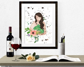 Breastfeeding Print INSTANT DIGITAL DOWNLOAD