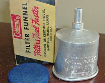 Vintage COLEMAN Funnel