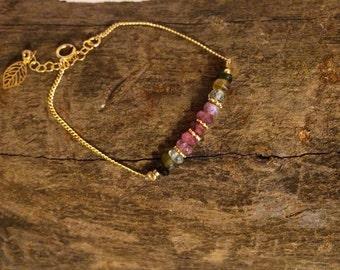Beaded bracelet   gold filled bracelet   hand made jewelry's