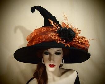 "Witch Hat ""Orange you Festive"""