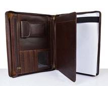 case handmade leather folder portfolio resume holder laptop resume portfolio holder 3109 portfolio folder for