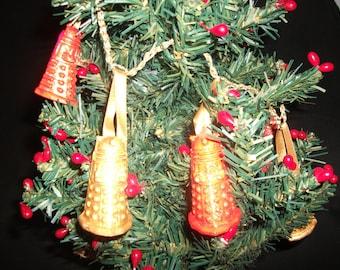 Dalek Glittery Garland, perfect for a Who Christmas/Yule, handmade.