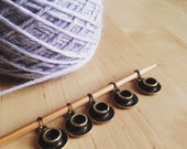Tea cup & saucer stitch markers