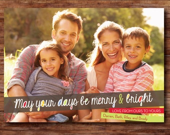 Christmas or Holiday Photo Card