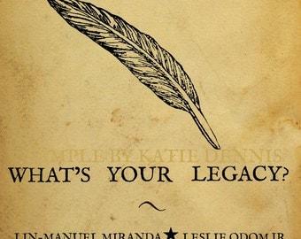 Hamilton Musical Poster (11x17)