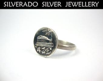 ring aus münze werkzeug