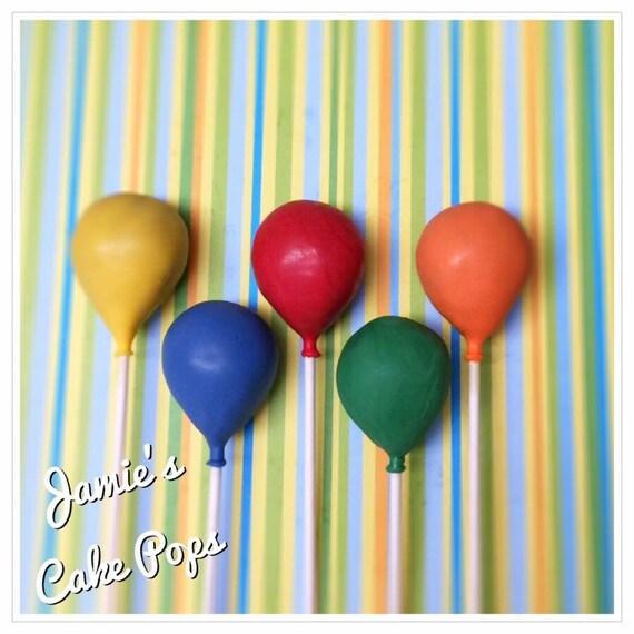 Birthday Balloon Cake Pops