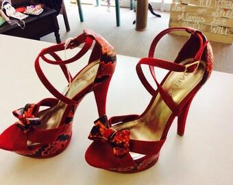 Bakers playform heels! Size 7m