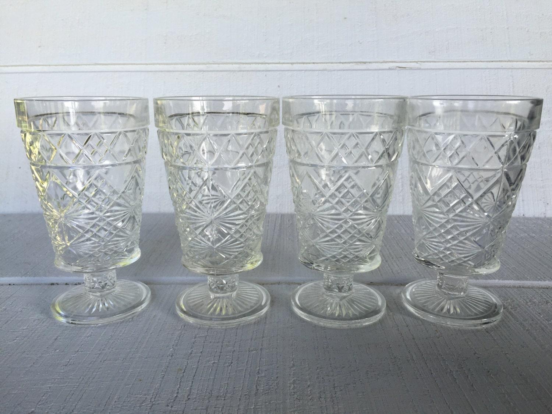 Vintage Water Goblets 66