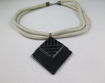 Hattie Carnegie Geometric Necklace