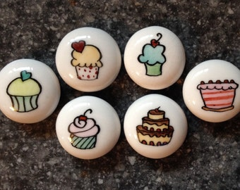 Cake and Cupcake Magnets