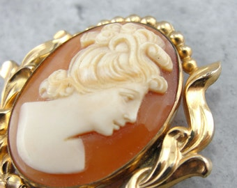 Lovely Cameo Pendant or Brooch  T7YPRX-N