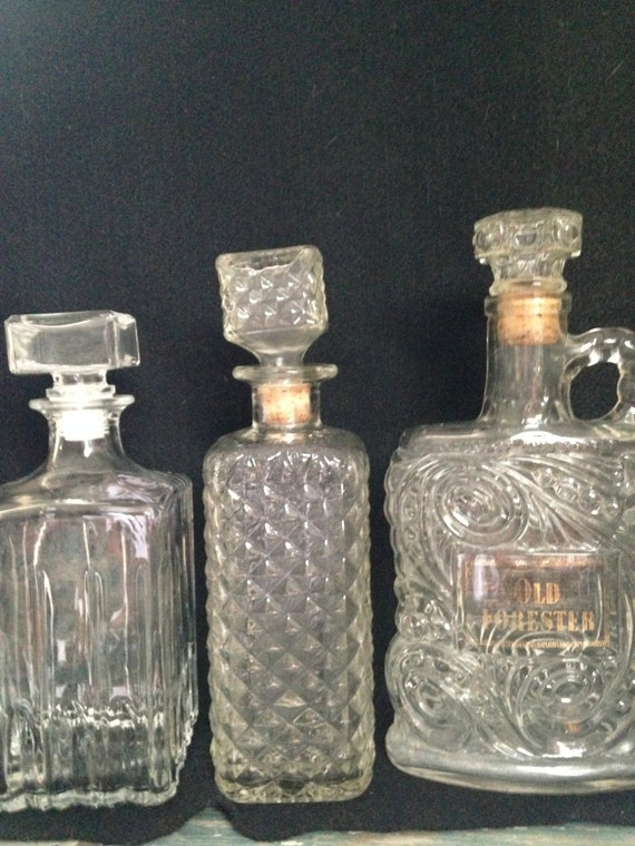 Decanters Collection Old Forester Bottle Decanter With Handle