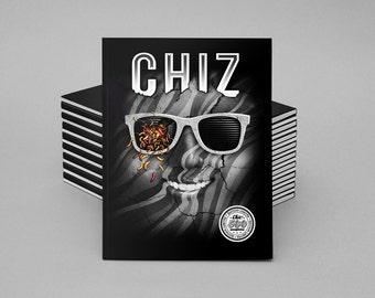 Chiz Magazine N.2, illustration fanzine, limited edition magazine