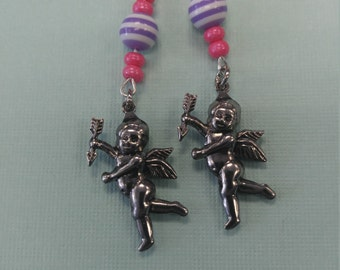 Cute cupid earrings
