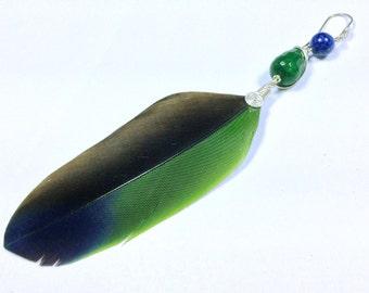 Feather earring AmaZonia