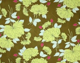 Amy Butler Belle Chrysanthemum Olive Fabric PWAB115-OLIVE