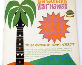 The 50 Guitars of Tommy Garrett Visit Hawaii Vinyl LP Record LSS 144022