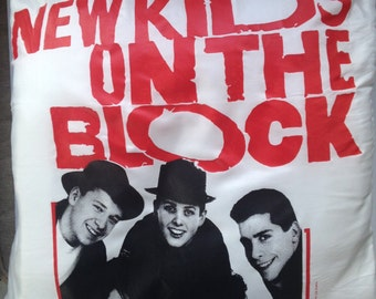 80's New Kids on the Block 19x19 pillow