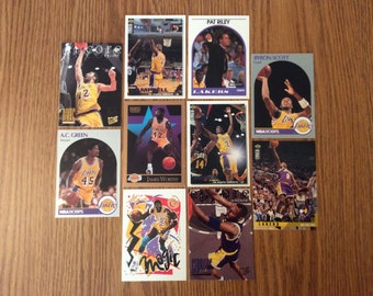 50 Los Angeles Lakers Basketball Cards